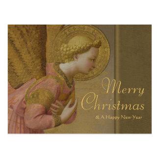 Carte Postale Noël de l'ange CC0808 d'annonce d'ATF Angelico