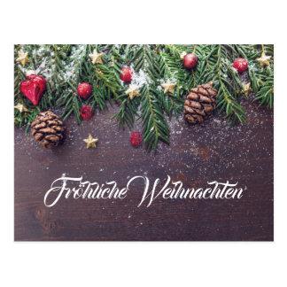 Carte Postale Noël joyeux