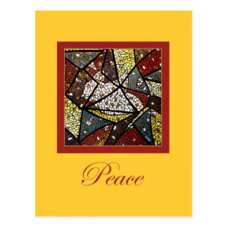 Carte Postale Noël religieux de symbole de Saint-Esprit de