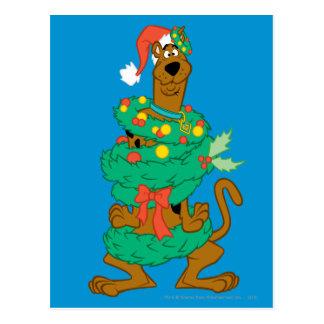 Carte Postale Noël Scooby