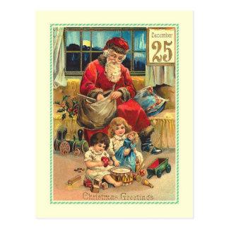 Carte Postale Noël vintage