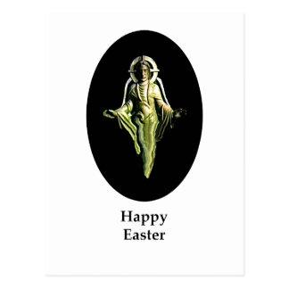 Carte Postale Noir heureux de Cantorbéry d'image de Pâques le