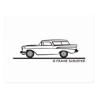 Carte Postale Nomade 1957 de Chevrolet