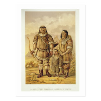 Carte Postale Nomades de Chukchi, gravés par Winckelmann et fils