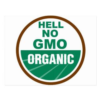 Carte Postale Non GMO Orgainc