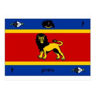 Carte Postale Norme royale du Souaziland