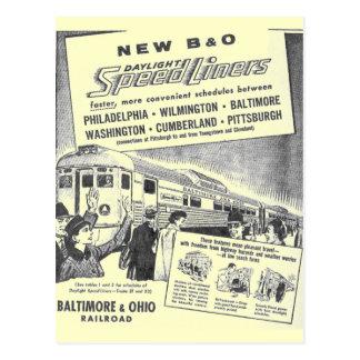Carte Postale Nouveau B&O Budd a établi la lumière du jour