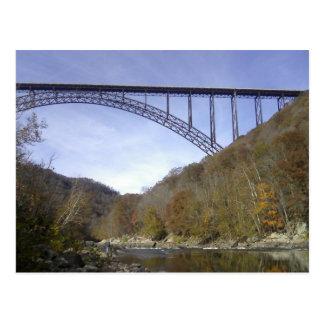 Carte Postale Nouveau pont de George de rivière