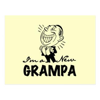 Carte Postale Nouveaux T-shirts et cadeaux de sourire de Grampa