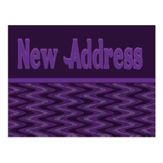 Carte Postale Nouvelle adresse