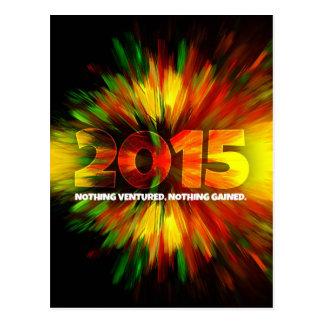 Carte Postale Nouvelle année 2015