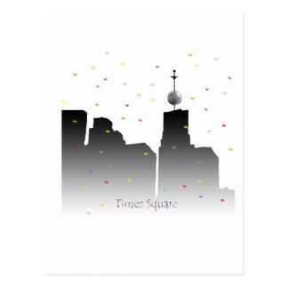 Carte Postale nouvelles années de Times Square