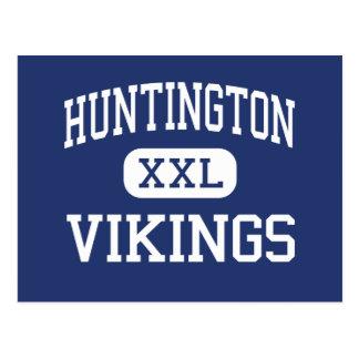 Carte Postale Nouvelles moyennes de Huntington Vikings Newport