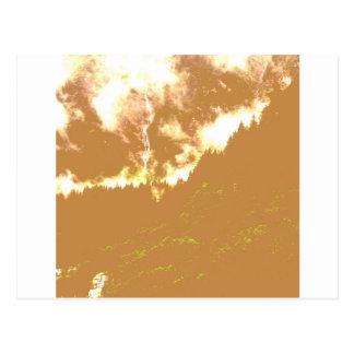 Carte Postale Nuages de Brown
