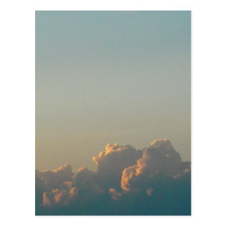 Carte Postale nuages en Roumanie