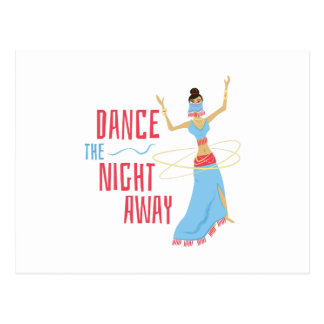 Carte Postale Nuit de danse partie
