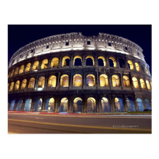 Carte Postale Nuit tirée de Colosseum