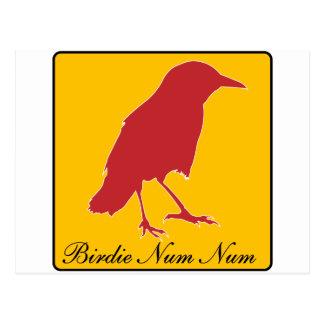 Carte Postale numérique numérique de birdie