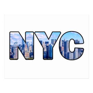 CARTE POSTALE NYC
