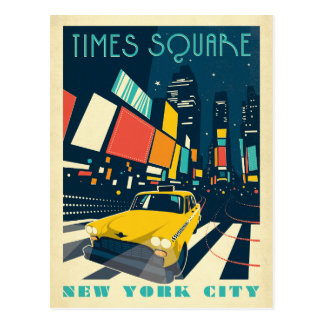 Carte Postale NYC - Times Square