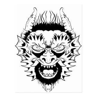 Carte Postale Nymphe de diable
