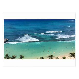 Carte Postale Oahu