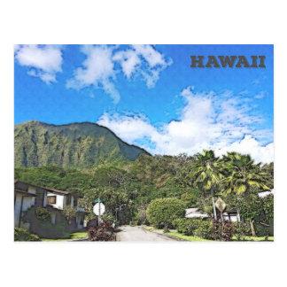 Carte Postale Oahu, Hawaï