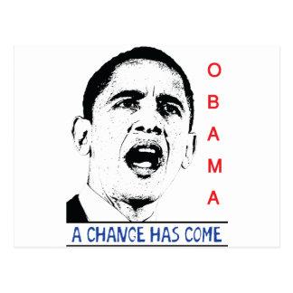 Carte Postale Obama