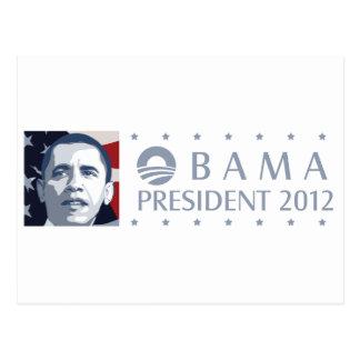 Carte Postale Obama 2012
