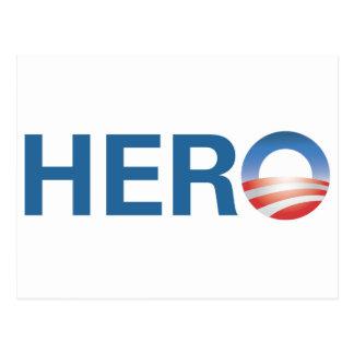 Carte Postale Obama est un HÉROS !