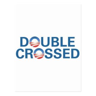 Carte Postale Obama nous a doublés