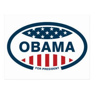 Carte Postale Obama pour le président