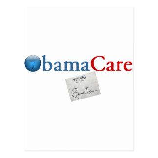 Carte Postale ObamaCare a approuvé