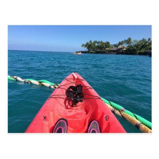 Carte Postale Océan Kayaking