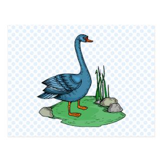 Carte Postale Oie de Glamma