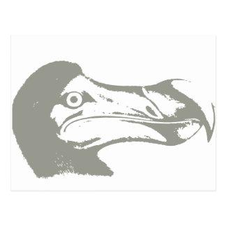 Carte Postale Oiseau Dronte