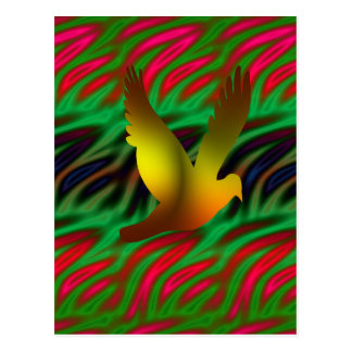 Carte Postale oiseau numérique