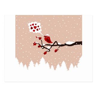 Carte Postale Oiseau sur un tree9