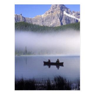 Carte Postale Oiseaux aquatiques ressortissant de lac, Banff de
