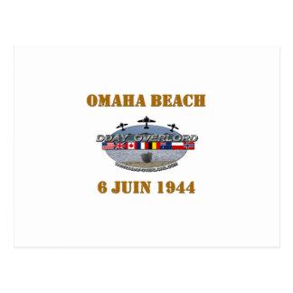 Carte Postale Omaha Beach 1944