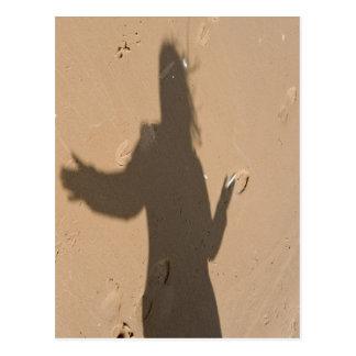 Carte Postale Ombre en dune