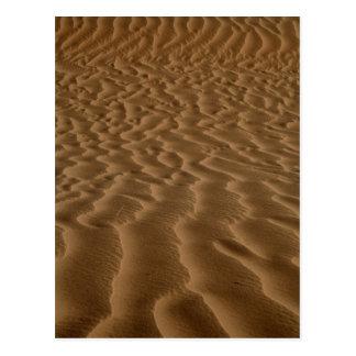 Carte Postale Ondulations de sable