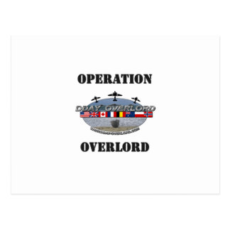Carte Postale Operation Overlord 1944