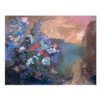 Carte Postale Ophélie parmi les fleurs, c.1905-8