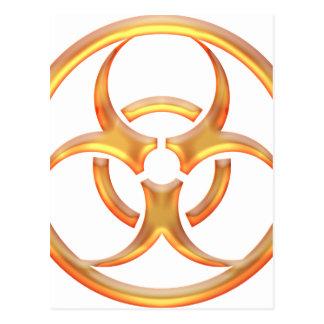 Carte Postale Or de Biohazard
