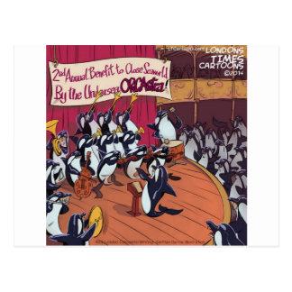 Carte Postale Orchestre d'orque drôle