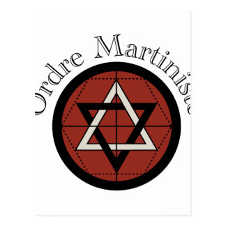 Carte Postale Ordre Mariniste