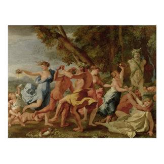 Carte Postale Orgie avant un Herm, c.1634