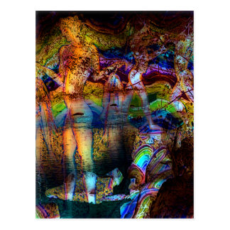 """Carte postale originale d'art de """"Akrotiri"""""""