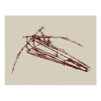 Carte Postale ornithopter